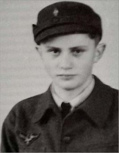 Josef Ratzinger as a Hitler Youth