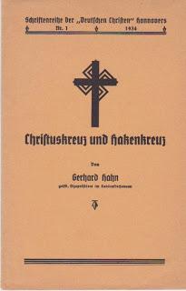 Nazi propaganda pamphlet