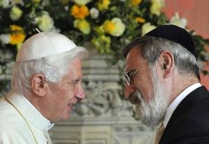 Rabbi Sacks with Benedict
