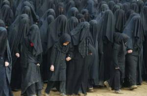 Burqa women