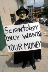 Scientology wants your money