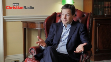 Nick Clegg radio interview