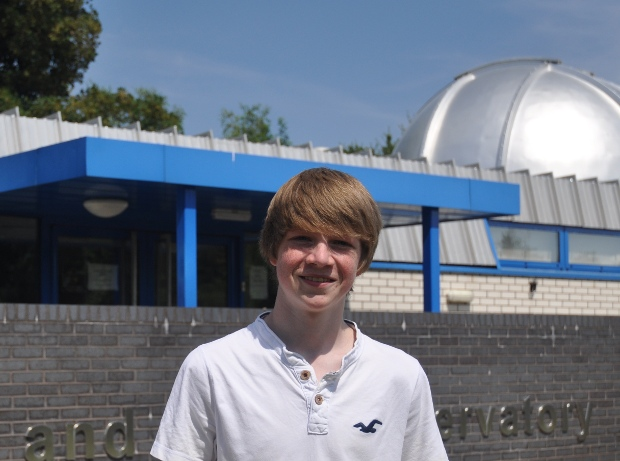 Tom Wagg at Keele Observatory