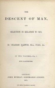 Descent of Man, Darwin